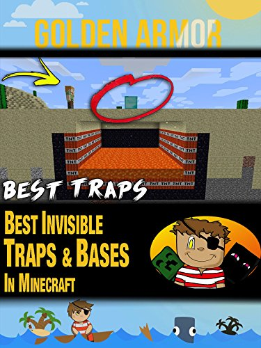 Clip: Golden Armor - Best Invisible Traps & Bases in Minecraft