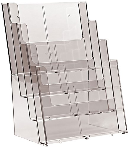 Taymar 4C230X Four Tier Leaflet Dispenser (Pack of 2)