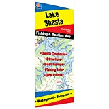 Shasta Lake Fishing Map