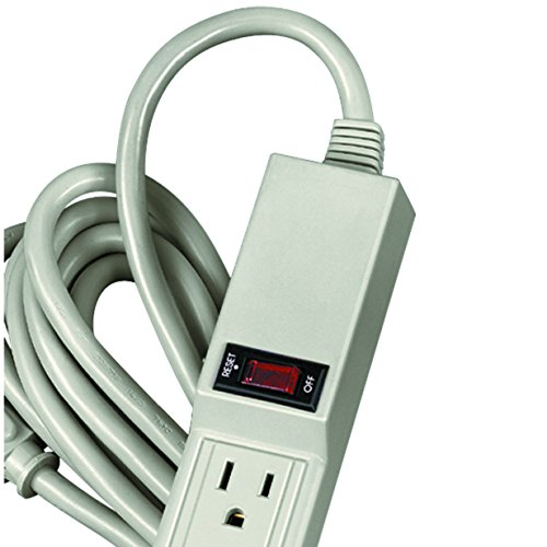 Fellowes 6-Outlet Office/Home Power Strip, 15 Foot Cord - Wall Mountable (99026) by Fellowes (Image #1)