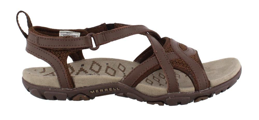 Merrell Women's, Sandspur Delta Wrap Sandals Bracken 7 M