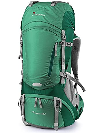 MOUNTAINTOP 55L 65L Internal Frame Backpack Hiking Backpack with Rain  Cover-5822III 9d34ade989acf