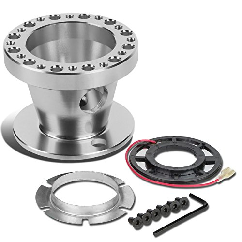 eel 6-Hole Hub Adaptor Kit (Silver) - Honda Accord / Prelude (Aluminum Racing Steering Set)