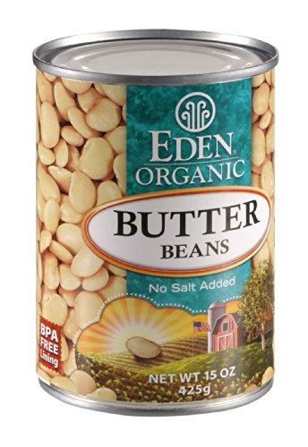 (Eden Foods Organic Butter Bean, 15 Ounce - 12 per case.)