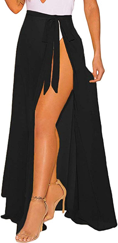 OmicGot Women's Swimsuit Cover Up Beach Sarong Wrap Maxi Skirt