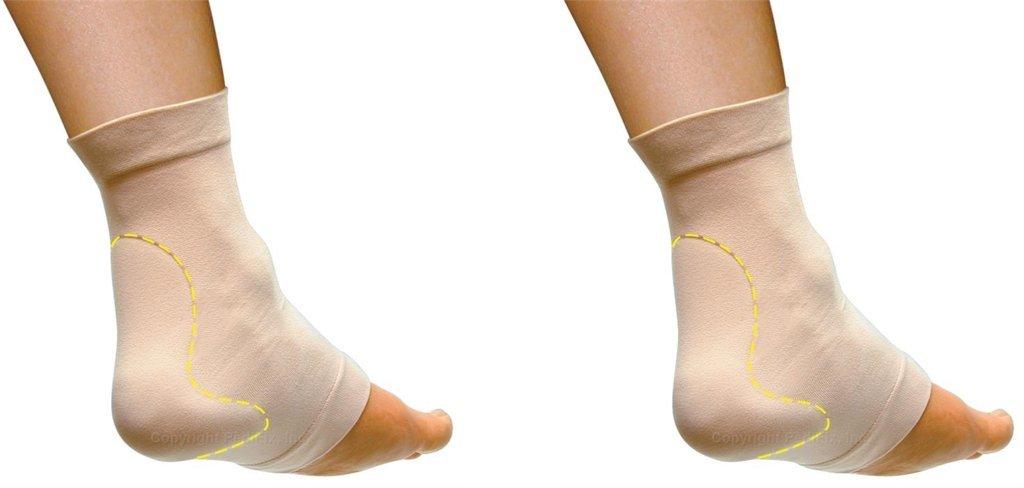 PediFix Visco-gel Achilles Protection Sleeve - Large - 2- Pack by Pedifix