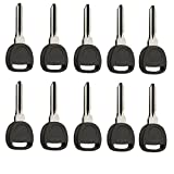 Bulk Lot 10 Key fits B111-PT Circle Plus Buick / Cadillac / Chevy / GMC / Hummer / Pontiac / Saturn / Suzuki