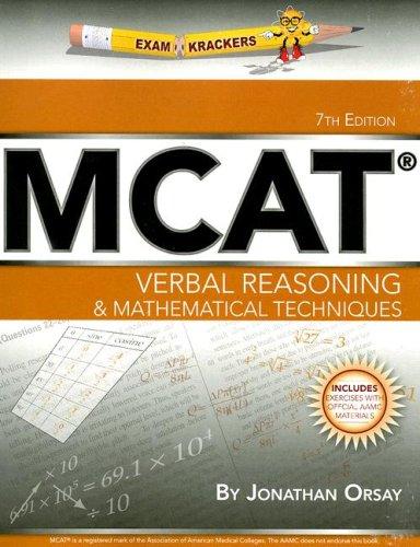 Examkrackers MCAT Verbal Reasoning & Mathematical Techniques