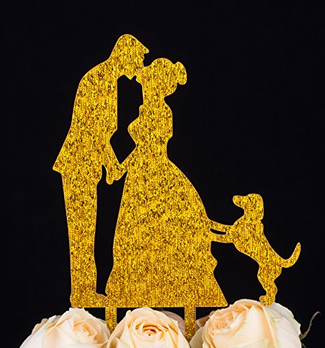 LOVENJOY Kissing Silhouette Decoration 5 3 inch product image