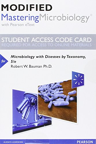 Microbiology W/Diseases.. Mod.Mastering