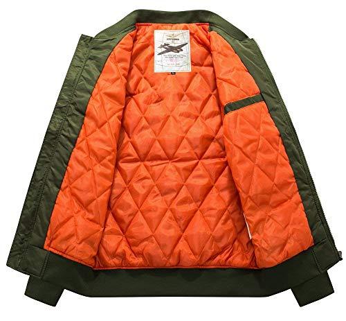 armee Leisure Jacket Lightweight Down grün Sleeve Outerwear Mens Jacket 1 Long Hoodie Warm Hooded Hooded Unique Men XwIXZrq