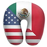 Game Life American Flag Mexican Flag U-shaped Pillow Travel Neck Pillow Back Cushion