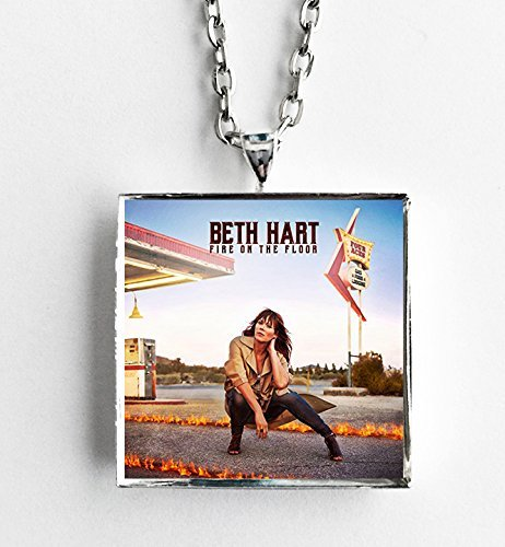 Beck Necklace - Album Cover Art Necklace - Beth Hart - Fire on the Floor