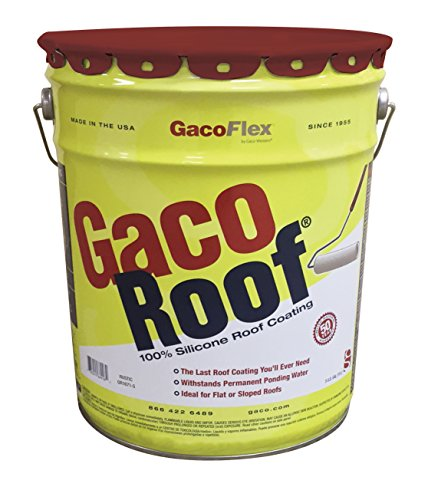 Gaco Roof 100% Silicone Roof Coating (Rustic)