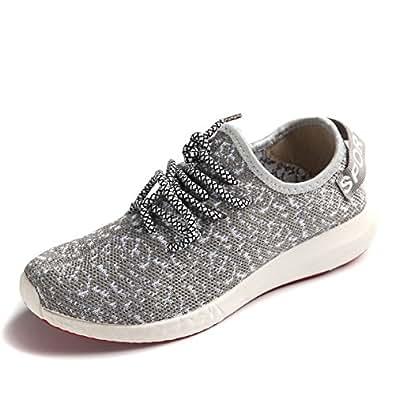 Amazon.com | JARLIF Women's Canvas Walking Sneakers