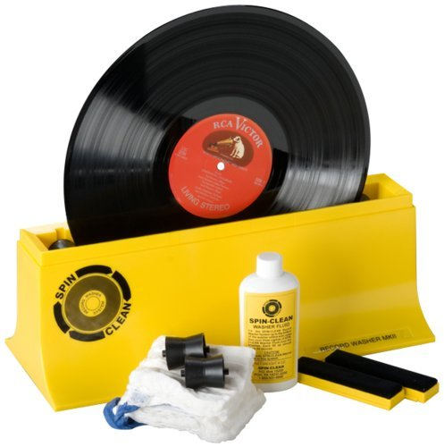 SPIN-CLEAN - STARTER KIT RECORD WASHER SYSTEM Mk2, Frustration-Free Packaging by SPIN CLEAN