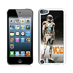 Tennessee Volunteers White Hard Plastic Ipod Touch 5th Generation Phone Cover Case