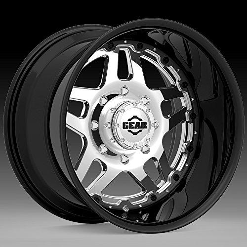 Gear Alloy 744BV Drivetrain 20x10 6x135 -25mm PVD/Black Wheel -