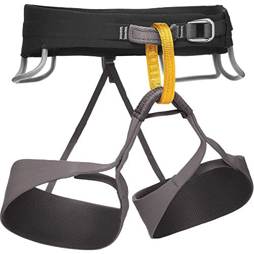Black Diamond Solution Climbing Harness - Men's Black/Slate Medium ()