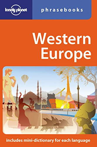 Western Europe: Lonely Planet Phrasebook