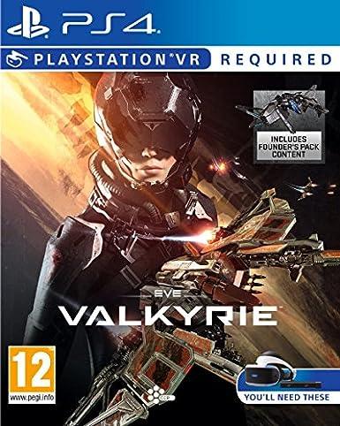 Sony Eve: Valkyrie, PS VR PlayStation 4 vídeo - Juego (PS VR, PlayStation 4, Shooter, Modo multijugador, T (Teen)): Amazon.es: Videojuegos