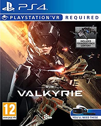Sony Eve Valkyrie Ps Vr Playstation 4 Video Juego Ps Vr