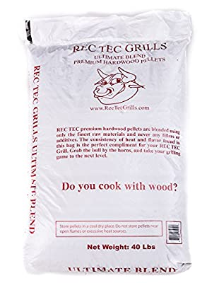 RecTec Grills Ultimate Blend Pellets, 40 lb made by  fabulous RecTec