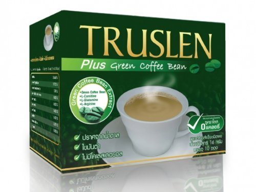Truslen Plus Instant Coffee Green Coffee Bean Extract Amazing of Thailand by Truslen