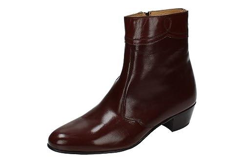 MOYA 50 BOTINES TACÓN CUBANO HOMBRE BOTAS-BOTINES: Amazon.es: Zapatos y complementos