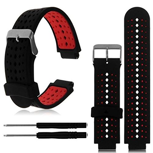 Oucan For Garmin Forerunner 230/235/630, Adjustable Replacement Watchband Silicone Sport Strap Band Bracelet Series 1 Series 2 Series 3 S/M M/L