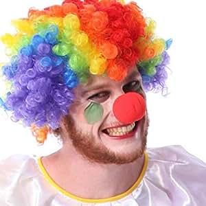 BEETEST 50 piezas Circo Fiesta Halloween Comic traje de espuma divertido payaso nariz