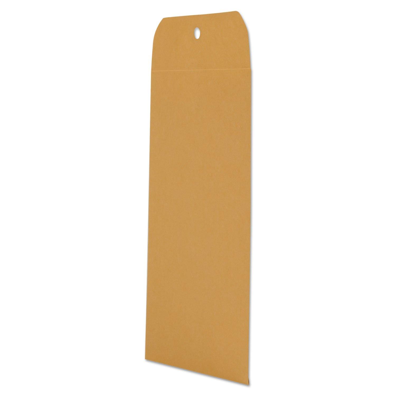 UNV35261 Kraft Clasp Envelope, Side Seam, 28lb, 6 1/2 x 9 1/2, Light Brown, 100/Box by UNV35261 (Image #2)