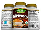 Turmeric Curcumin by Doctor's Herb, Pain Relief, Joint Supplement for Men/Women, Experts-Formulated Unique Blend; Organic Turmeric+Cinnamon+Extracts, 60 Days Supply, Non-GMO, Naturally Gluten Free