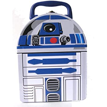 Star Wars R2-D2 Metal Boys Tin Lunch Box