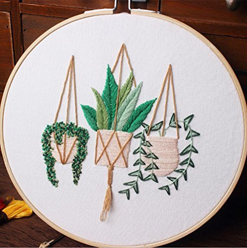 Cross Stitch Stamped Embroidery Kit - Eafior DIY Beginner Co