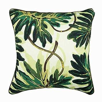 Amazon.com: Decorativos fundas de almohada verde, fundas de ...
