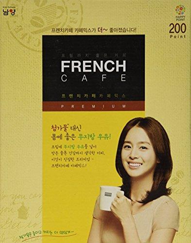 Premium Coffee Sticks - Premium French Cafe Instant Coffee Mix (100 Sticks) by Namyang