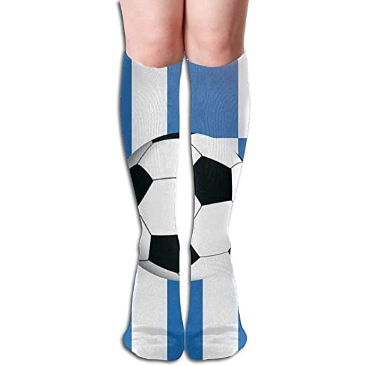 Image Unavailable. Image not available for. Color  Greece Soccer Ball On  Flag Women s ... 2454a3c1b2