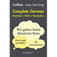 Easy Learning Complete German - Grammar, Verbs and Vocabulary (3 Books in 1)