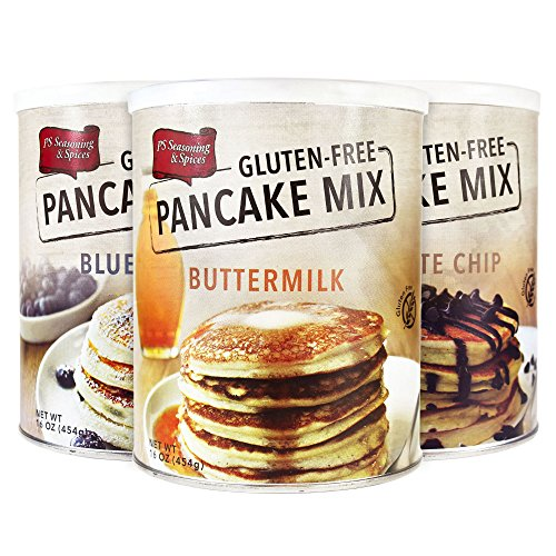 Price comparison product image PS Seasoning & Spices Gluten-Free Pancake Mix- Gourmet 3-Pack