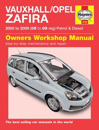 vauxhall zafira repair manual haynes manual service manual workshop rh amazon co uk Haynes Repair Manuals PDF haynes repair manual opel corsa b