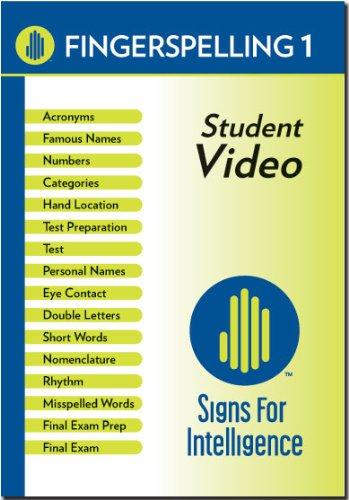 Fingerspelling 1 Student DVD