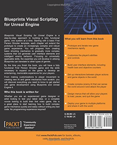 Blueprints visual scripting for unreal engine amazon blueprints visual scripting for unreal engine amazon brenden sewell 9781785286018 books malvernweather Image collections