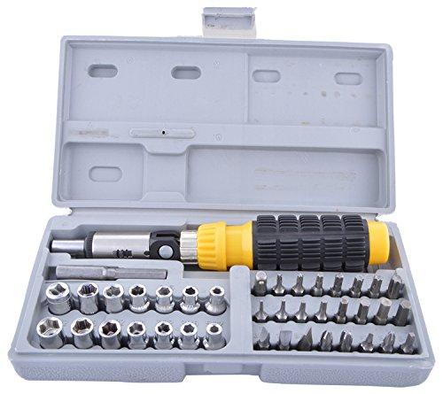 AIWA 41 Piece Bit  amp; Socket Set   Pack of 7 Sockets