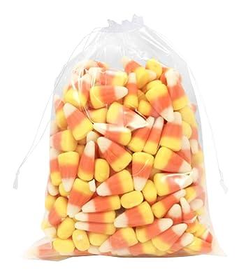 Amazon.com: APQ - Lote de 50 bolsas de cordón transparente ...