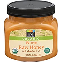 365 Everyday Value, Organic White Raw Honey, 16 Ounce
