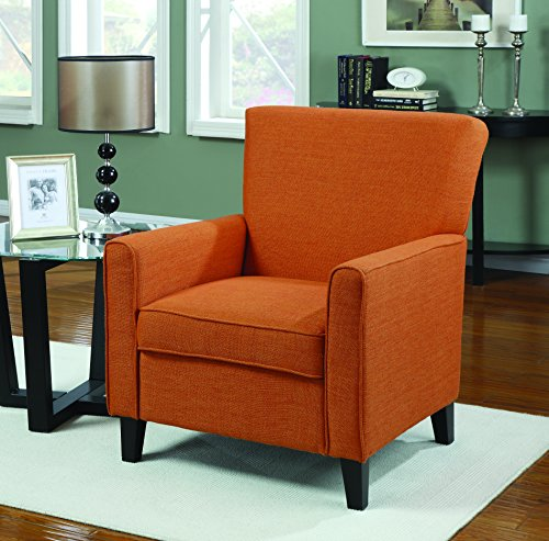 Coaster home furnishings casual accent chair orange buy online in uae kitchen products in Home furniture online uae