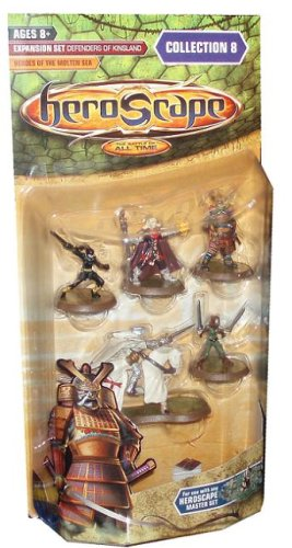 Heroscape Expansion Set Collection 8 Defenders of Kinsland Heroes of the Molten Sea
