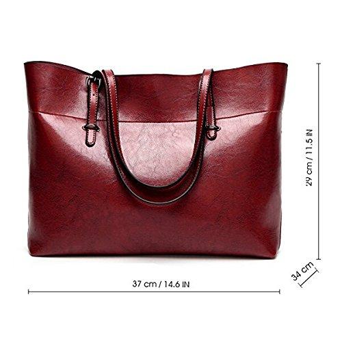 Rouge Femmes De Main Bandouliere Mode Sacs A Rouge Pour vin Vin La Sodial Ls Messenger Sac Les qaTHU