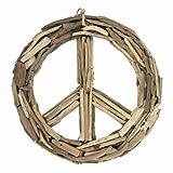 DRIFTWOOD PEACE SIGN MEDIUM 15.5″ Dia